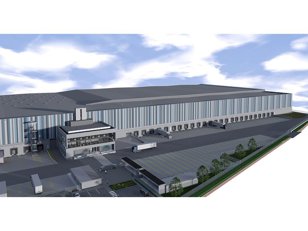 Kosten- und Terminkontrolle zum Erweiterungsbau Logistikimmobilie in Roosendaal (NL)
