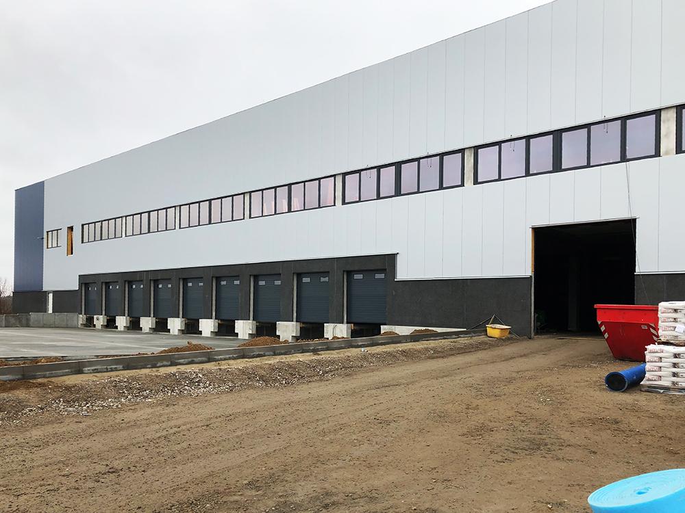 Vergabe- und Projektmanagement für den Neubau weiterer Bauabschnitte Logistikimmobilie in Schönefeld