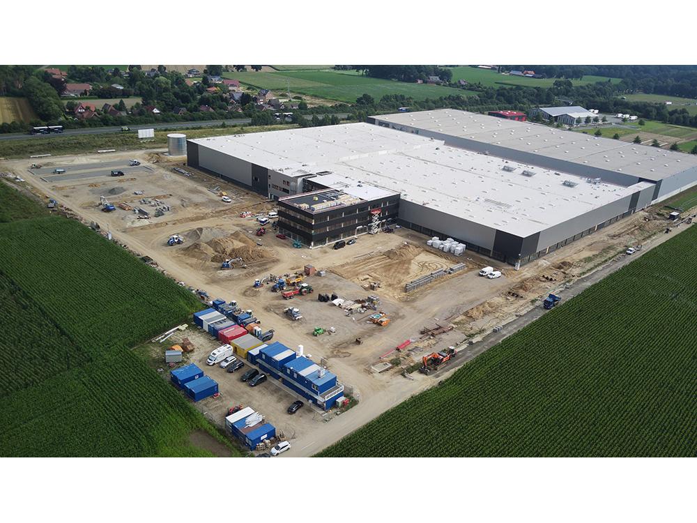 Projektmanagement für den Neubau einer Produktionsimmobilie in Emstek