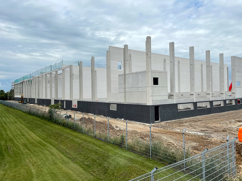 Projektmanagement Neubau Distributionszentrum bei Hamburg