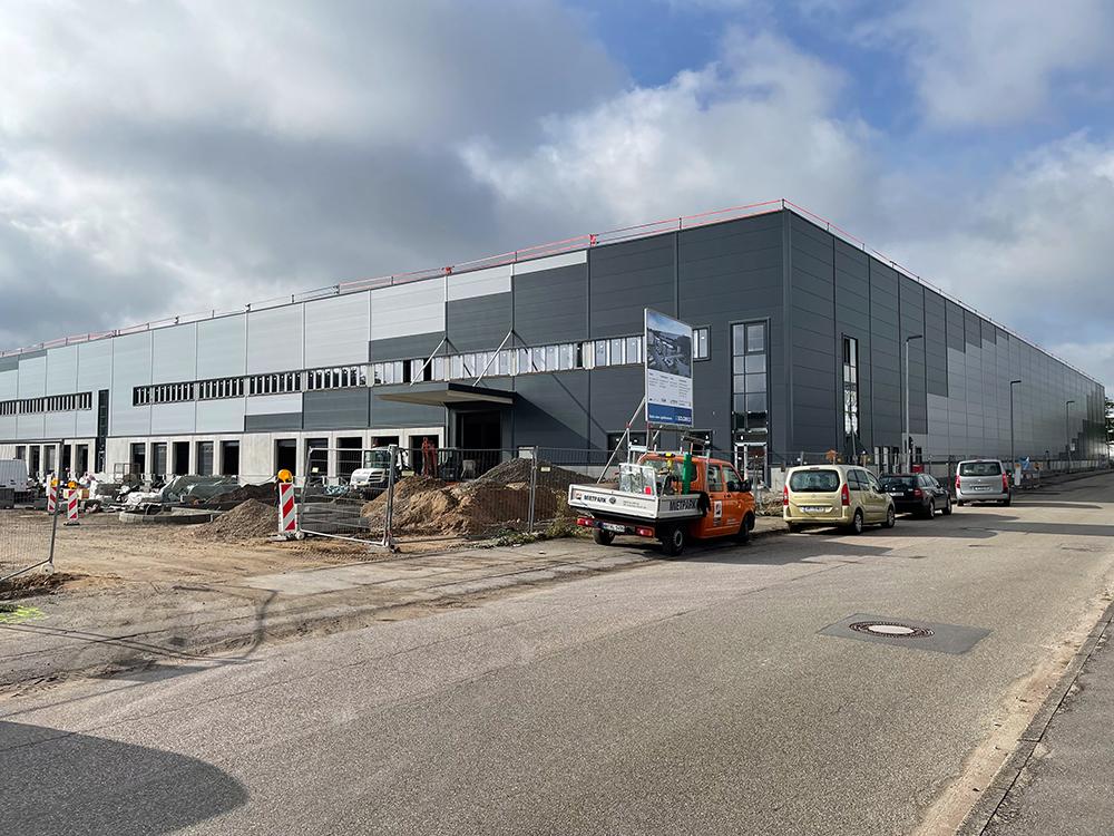 Vergabe- und Projektmanagement für den Rück- und Neubau einer Logistikimmobilie im Rhein-Neckar-Gebiet