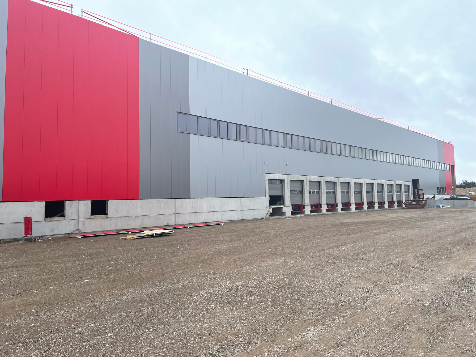 Projektmanagement Logistikzentrum Frankfurt / Oder