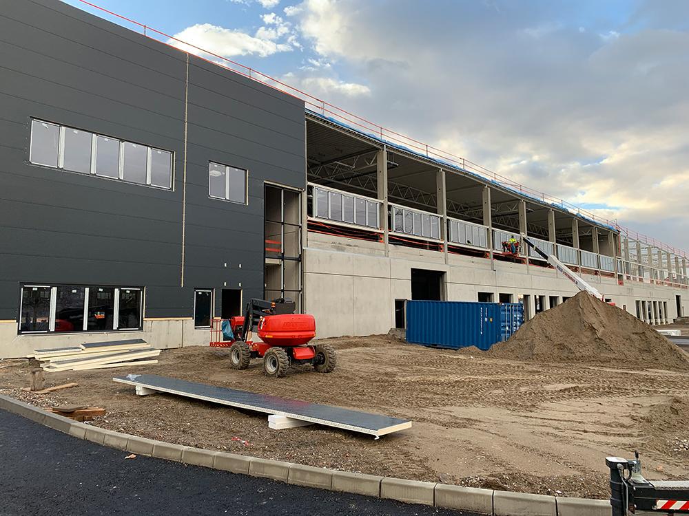 Projektmanagement für Neubau Logistikimmobilie in Bischofsheim