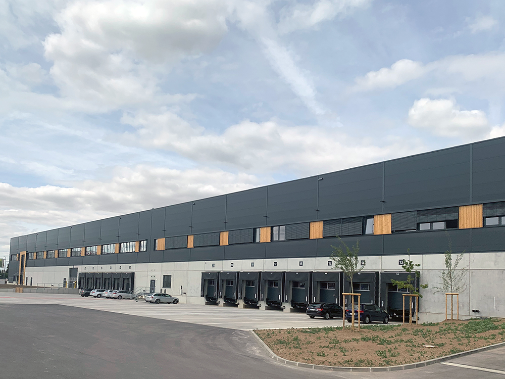 Project management for new logistics property in Bischofsheim