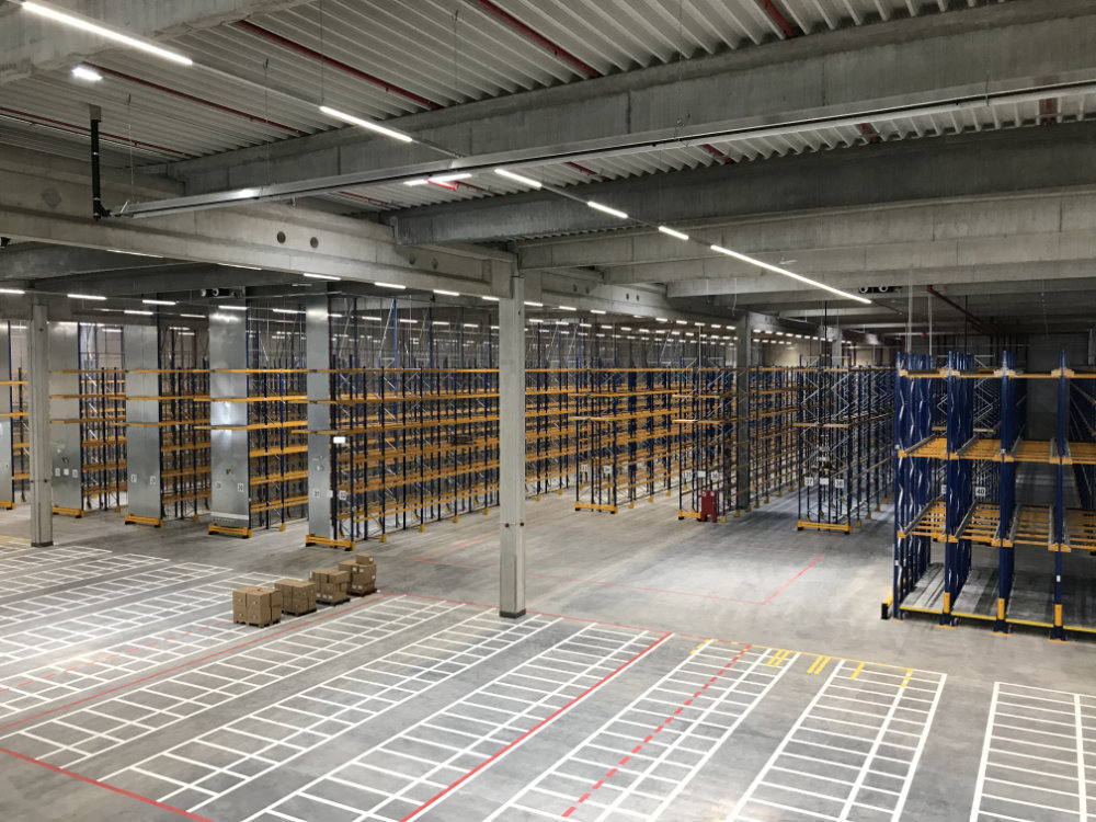 Procurement- and project management for a new logistics center in Bürstadt