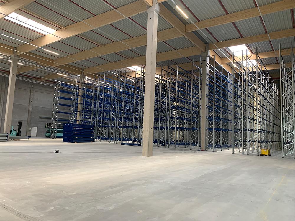 Projektmanagement für Erweiterungsbau Logistikimmobilie in Groß Rohrheim