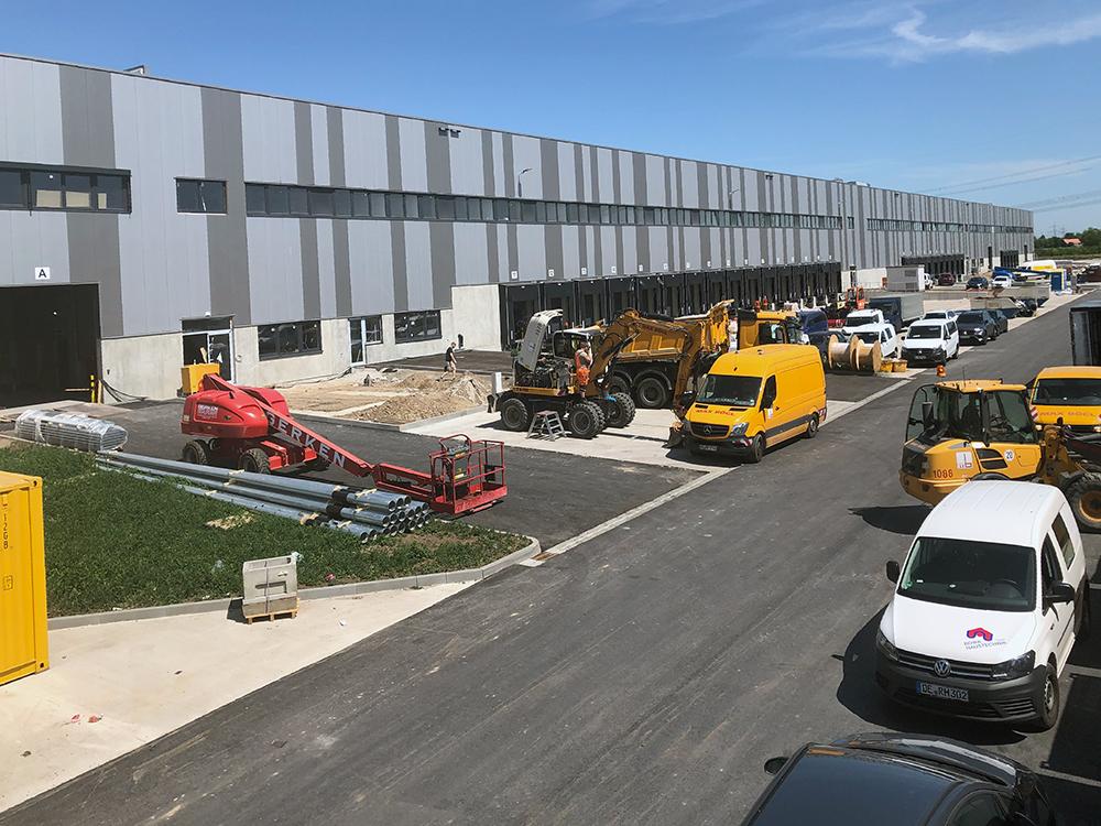 Projektmanagement für den Nutzer der Logistikimmobilie in Halle/Saale