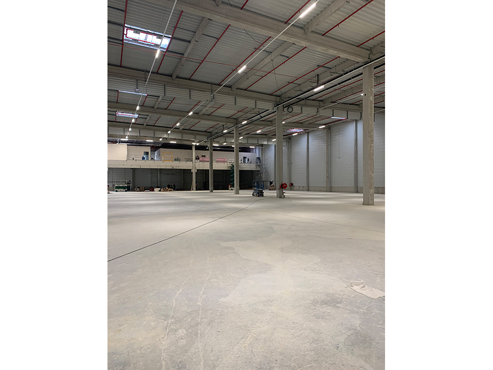 Kosten- en schemacontrole voor het nieuwe logistiek pand in Hambach (F)