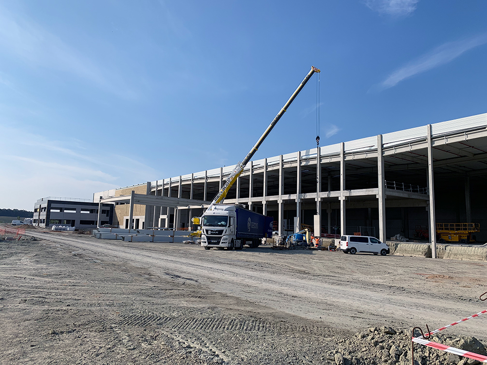 Cost and schedule control for the new logistics property in Roosendaal (NL)