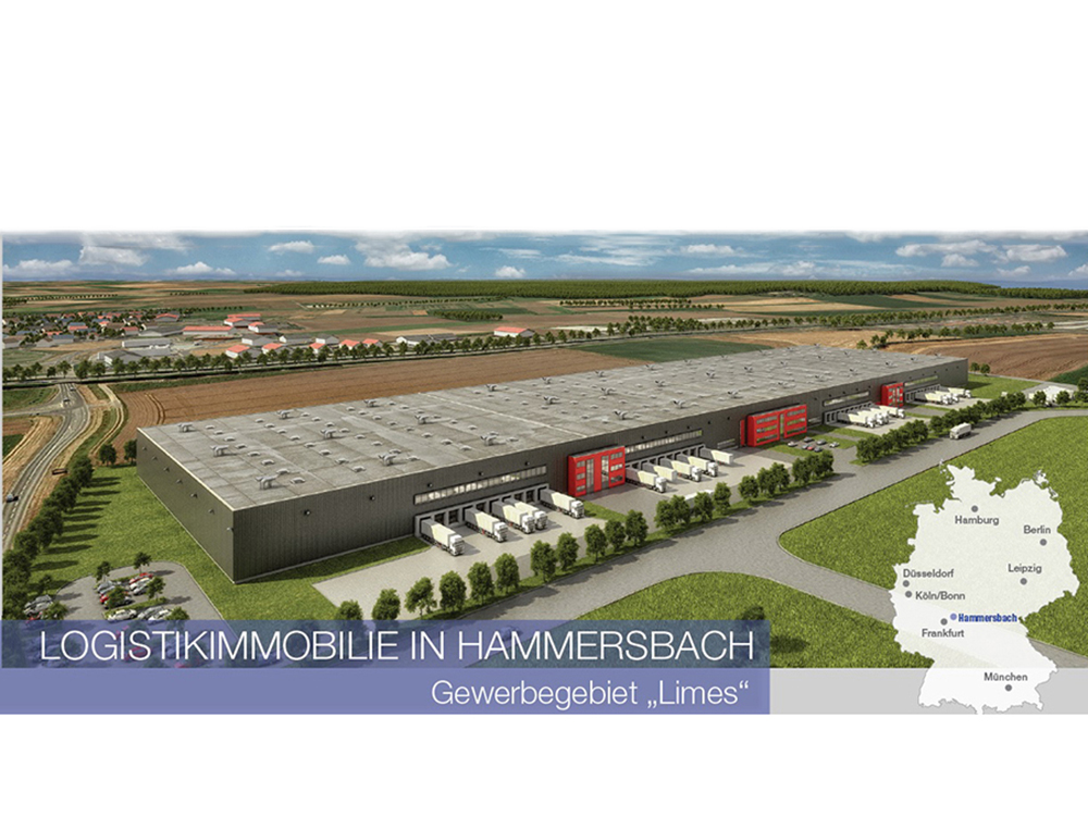 Procurement- and project management for a new logistics center in Hammersbach 2. phase
