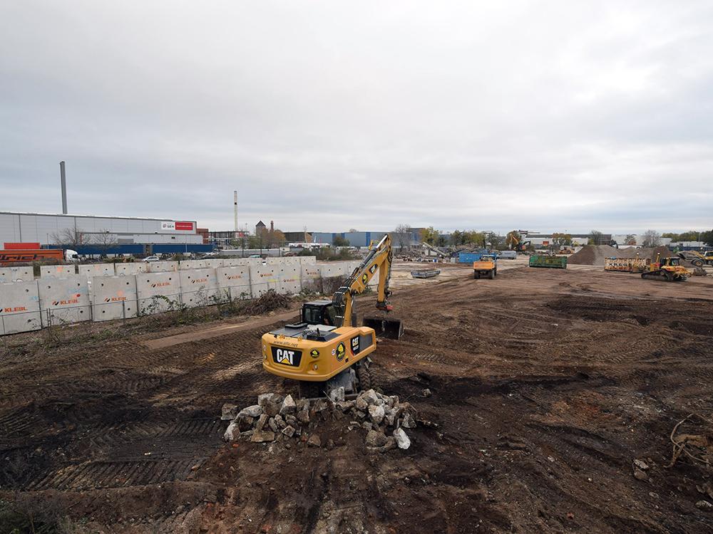 Vergabe- und Projektmanagement für den Neubau der Logistikanlage in Hannover Hafen