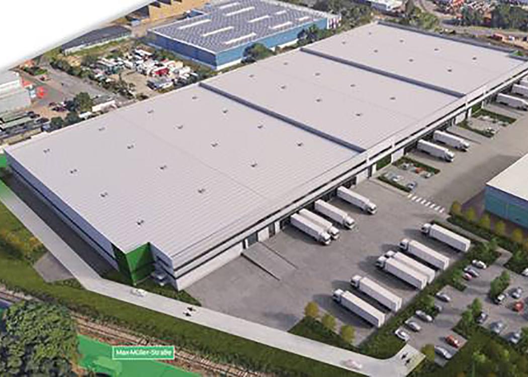 Inkoop en projectbeheer voor de nieuwbouw van de logistieke faciliteit in Hannover Hafen