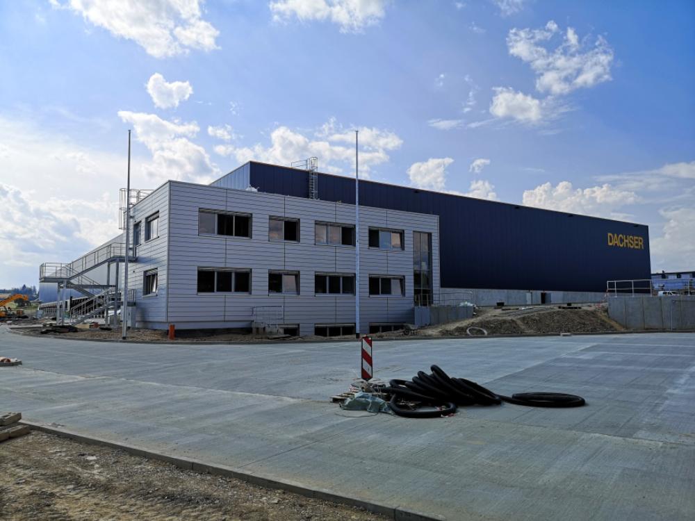 Procurement en projectmanagement nieuw logistiek centrum in Hof