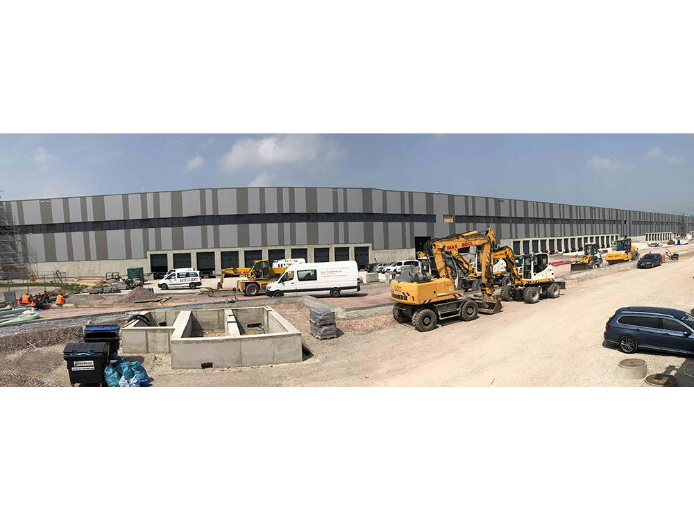 Project management for the user of the logistics property in Halle/Saale