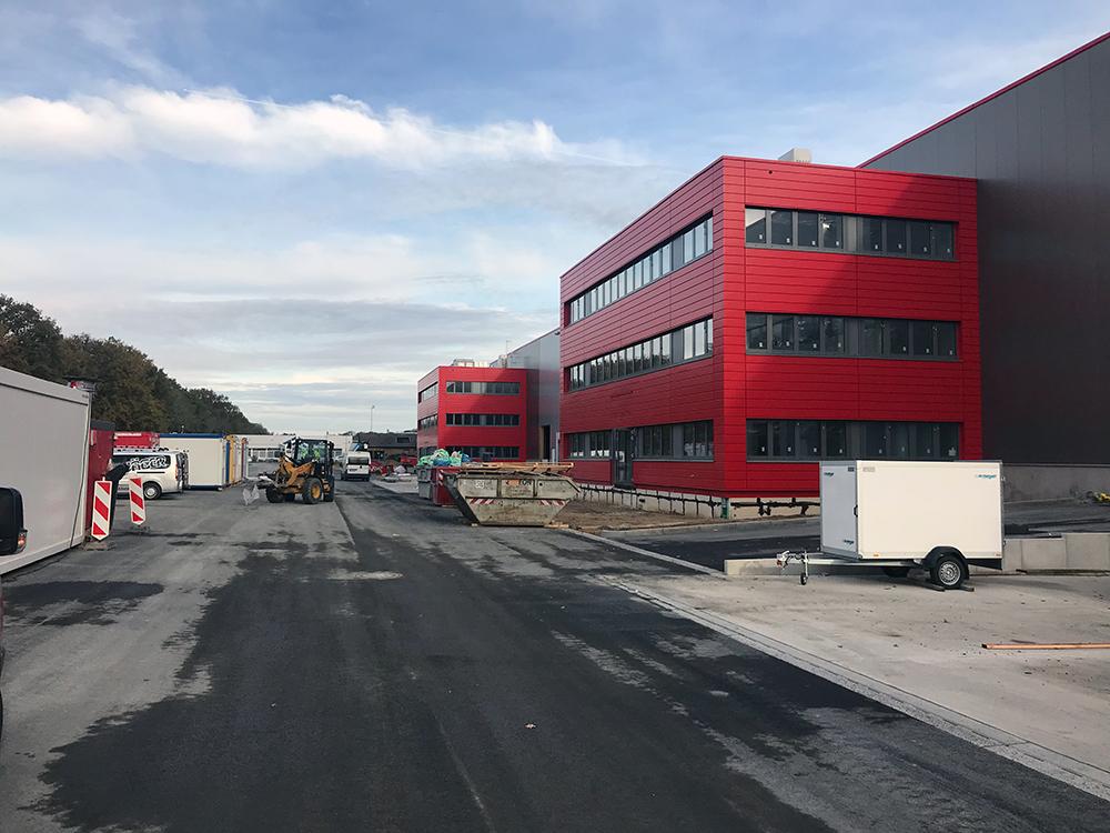 Investor tender en project management voor de gebruiker van het logistiek vastgoed in Kerpen
