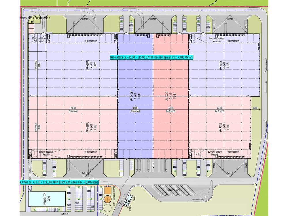 Investeringsuitnodiging voor nieuwbouw van het servicecentrum Kerpen