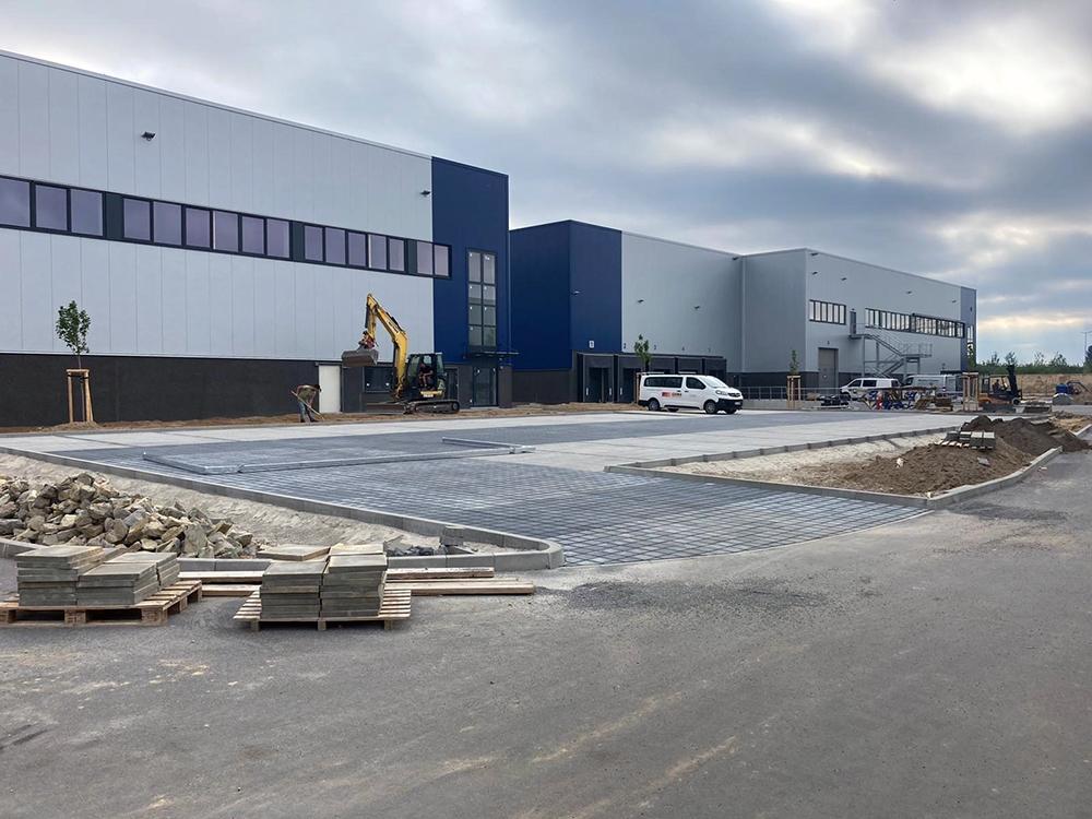 Inkoop en projectbeheer voor de nieuwbouw van verdere bouwprojecten Logistiek vastgoed in Schönefeld