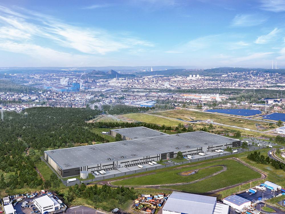 Procurement en projectmanagement nieuw logistiek centrum in Völklingen
