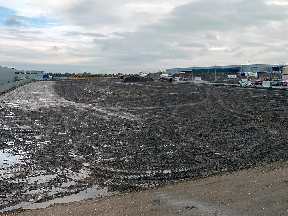 Procurement en project management voor een nieuw Verdion productie faciliteit in Wolfsburg