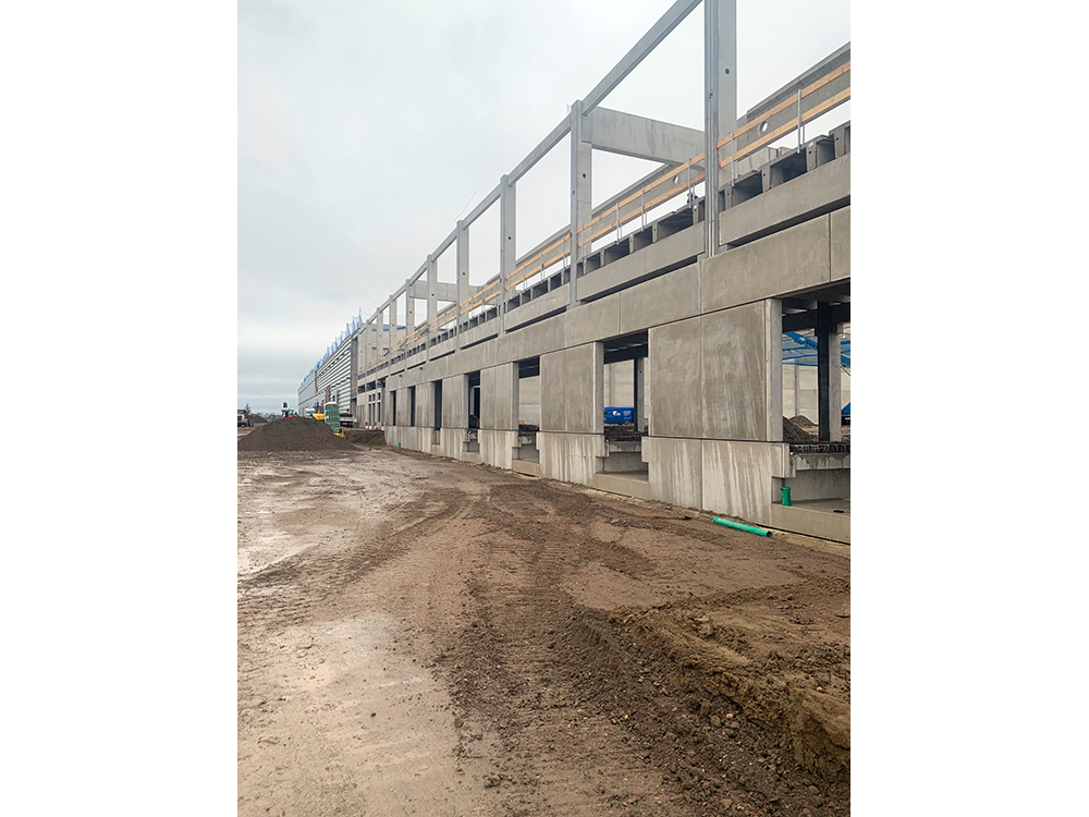 Vergabe- und Projektmanagement für Neubau Logistikimmobilie in Wolfsburg