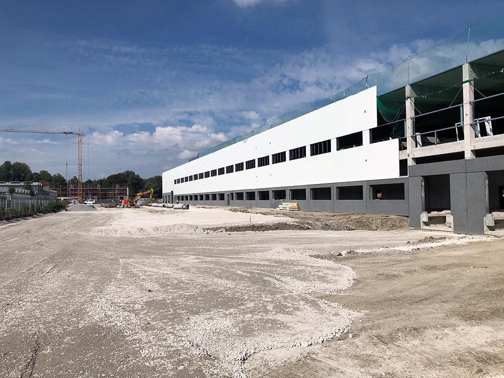 Inkoop en projectmanagement voor nieuw kantoor en productie-eigenschap in Weilheim