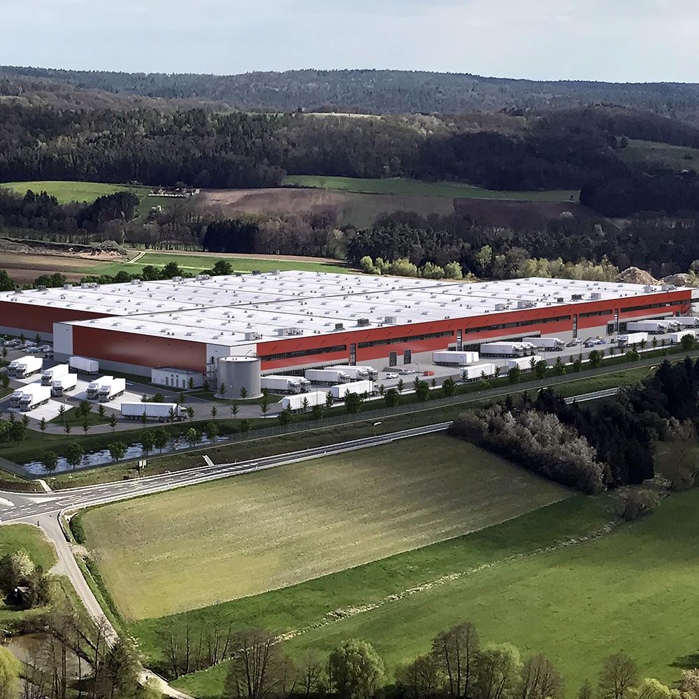 Vergabe - und Projektmanagement für Neubau Logistikimmobilie in Geiselwind