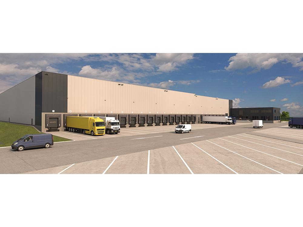 Inkoop en projectbeheer voor de nieuwbouw van de logistieke faciliteit in Wunstorf